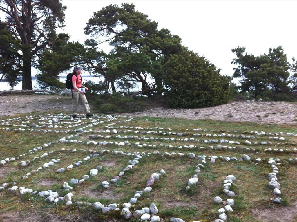 Labyrint vid Örarevet