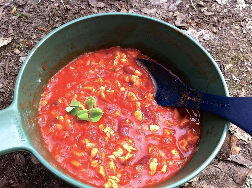 Chili på spritkök